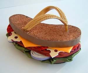 Sandwich Sandals