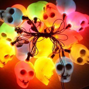 Skull String Lights