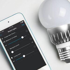 Smartphone Controlled Lightbulb