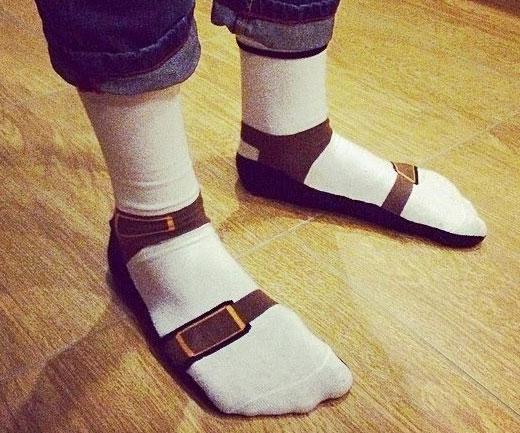 Sock Sandals Interwebs