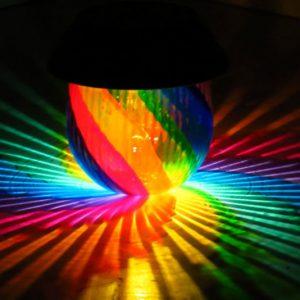 Solar Rainbow Lamp
