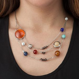 Solar System Planetary Necklace