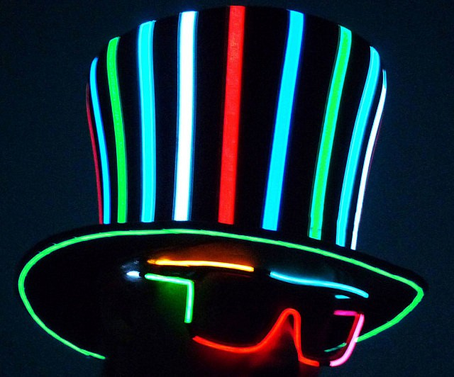 Sound Activated Top Hat Interwebs