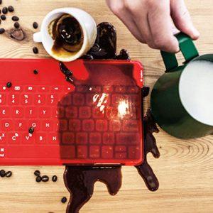 Spillproof iPad Keyboard