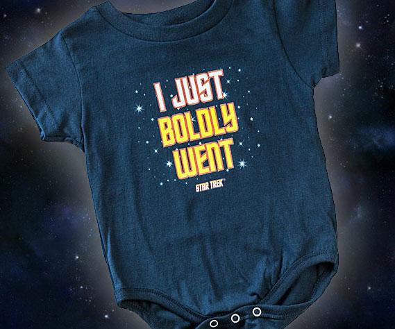 Star Trek Baby Onesie Interwebs