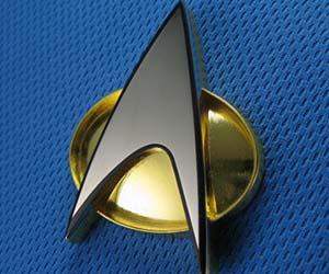 Star Trek Communicator Badge