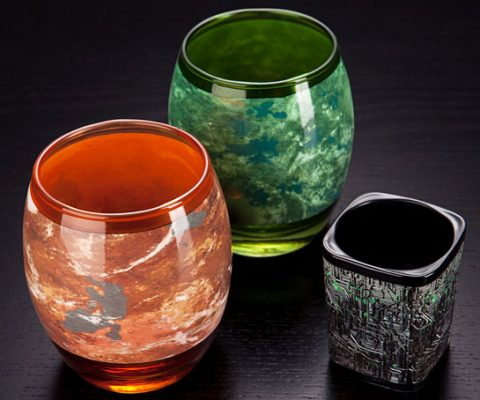 Star Trek Planetary Glassware Set