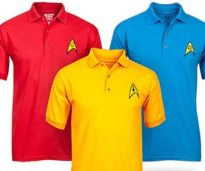 Star Trek Polo Shirts