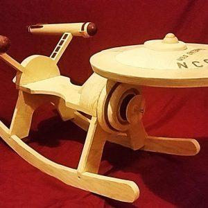 Star Trek Starship Enterprise Rocker