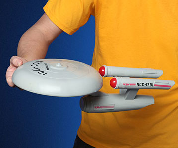 Star Trek USS Enterprise Frisbee