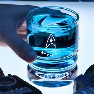 Star Trek USS Enterprise Glassware