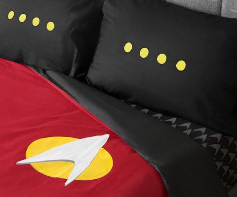 Star Trek Uniform Bedding Set