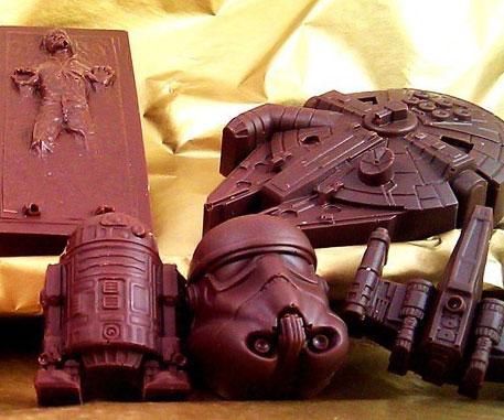 шоколад звездные войны купить