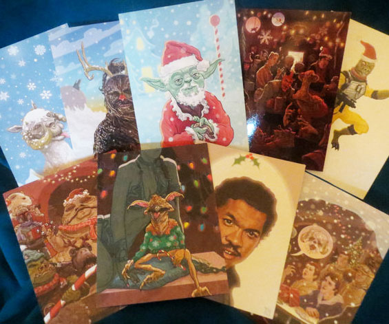Star Wars Holiday Cards