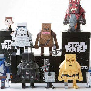 Star Wars Paper Craft Action Figures