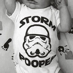 Star Wars Stormpooper Baby Onesie