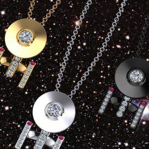 Starship Enterprise Necklace