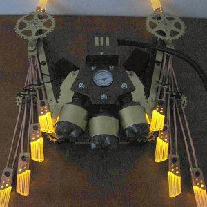 Steampunk Mechanical Wings