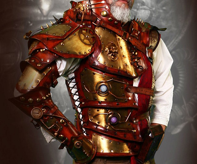 Steampunk Torso Armor Interwebs