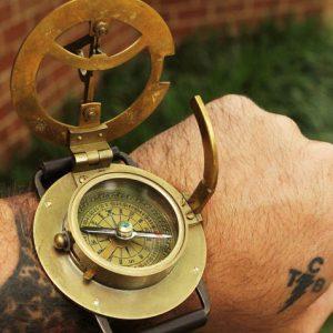 Steampunk Wrist Compass