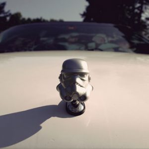 Stormtrooper Car Hood Ornament