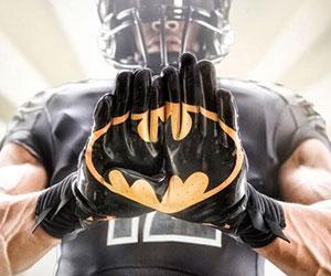 Superhero Football Gloves