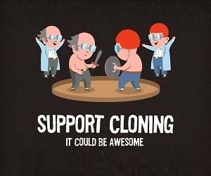 Support Cloning T-Shirt