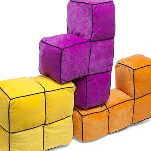 Tetris 3D Pillows