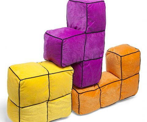 Tetris 3D Pillows
