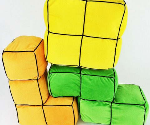 Tetris Block Cushions