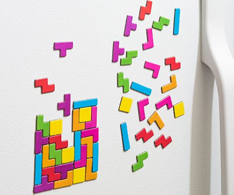 Tetris Refrigerator Magnets
