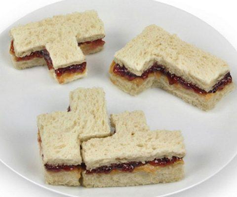 Tetris Sandwich Mold