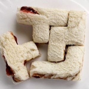 Tetris Sandwich Molds