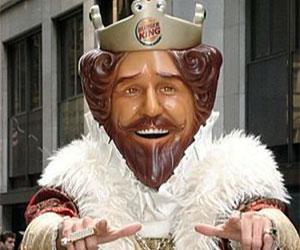 The Burger King Mask Interwebs