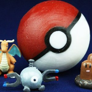 Toy Filled Pokeball Soap