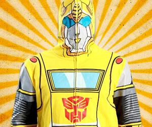 Transformers Bumblebee Hoodie