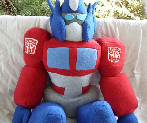 Transformers Optimus Prime Plushie