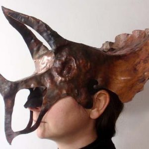 Triceratops Copper Mask