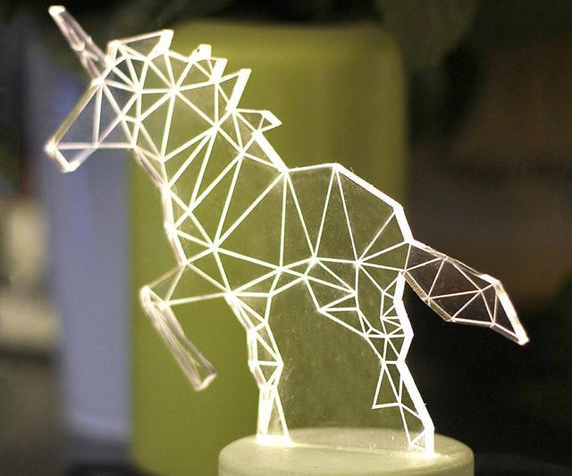 Unicorn Lamp Interwebs