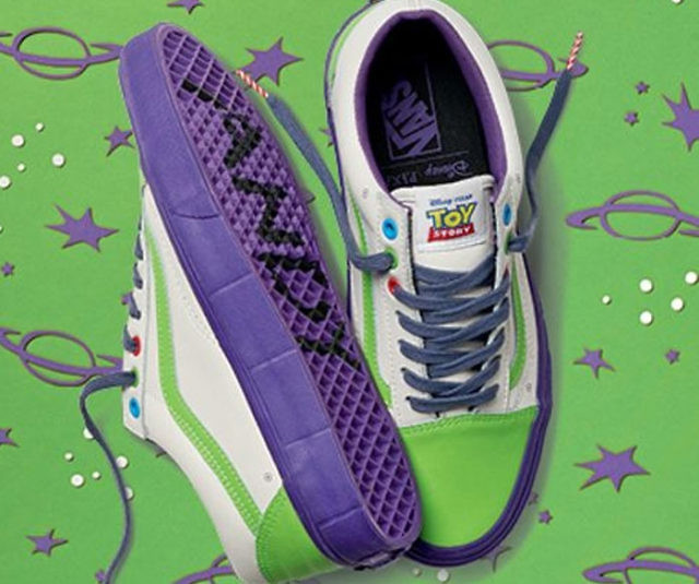 Toy Story Slippers : Vans toy story shoes interwebs