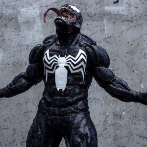 Venom Muscle Suit Costume