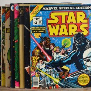 Vintage Comic Books Set