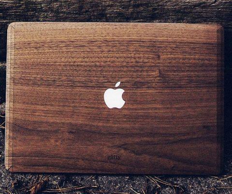 Walnut MacBook Cover