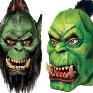 Warcraft Orc Masks