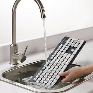 Solar Powered Wireless Keyboard