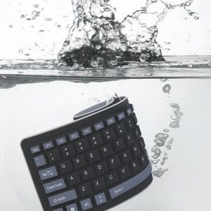Waterproof Roll Up Keyboard