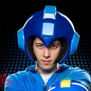 Wearable Mega Man Helmet