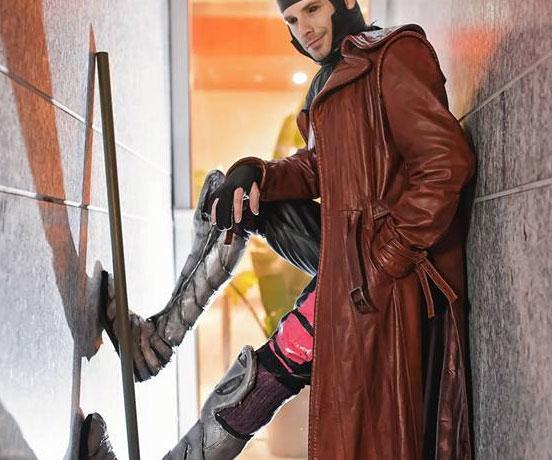 X Men Gambit Costume Interwebs