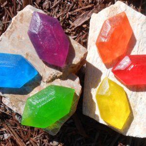 Zelda Rupee Soap Bars