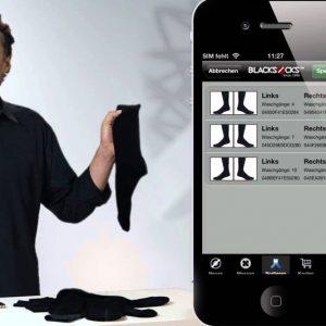 iPhone Enabled Smart Socks